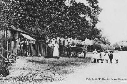 Old Forge Smithy Lane c1905