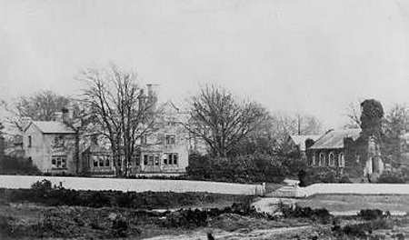 Old Vicarage and St Andrews Chapel c1905