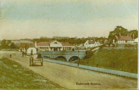 Tadworth Station c.1900