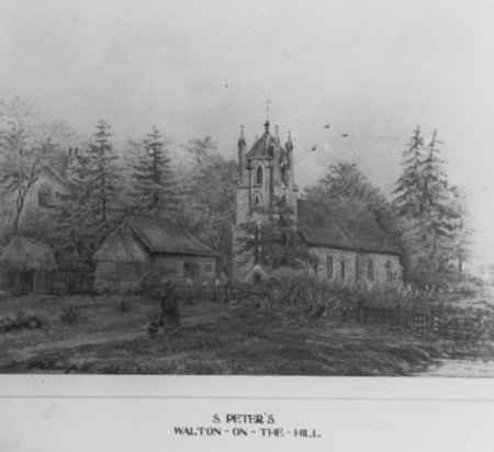 St Peter's Church Before 1894